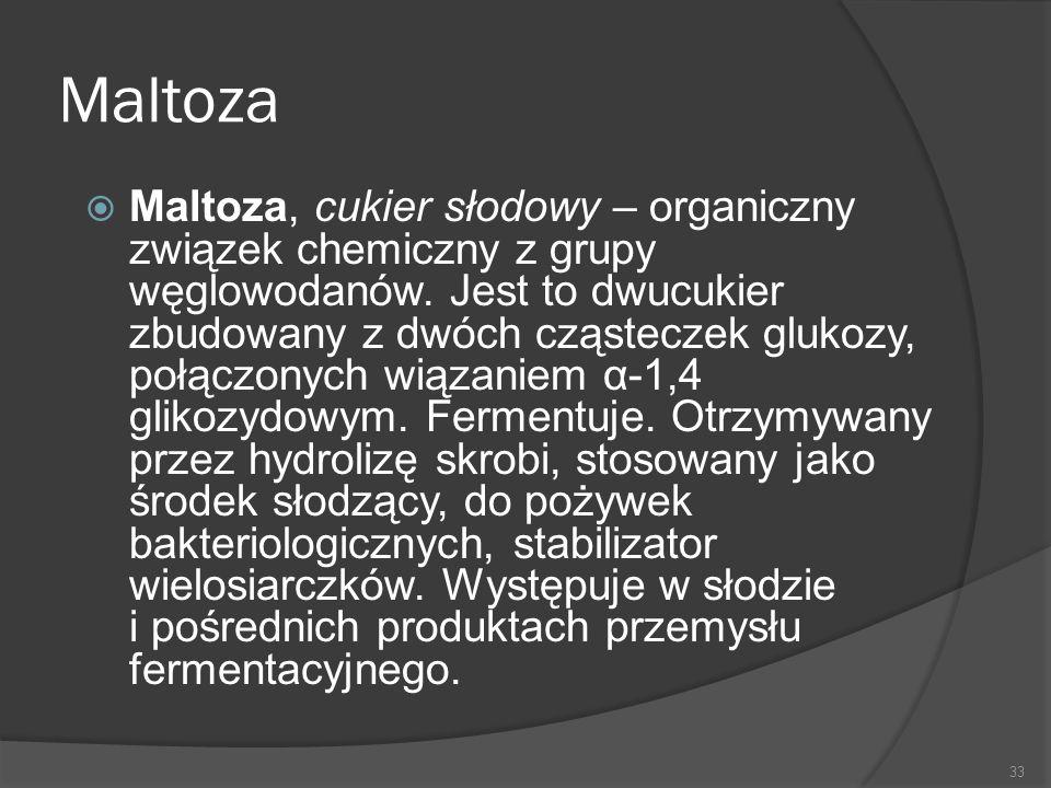 Maltoza