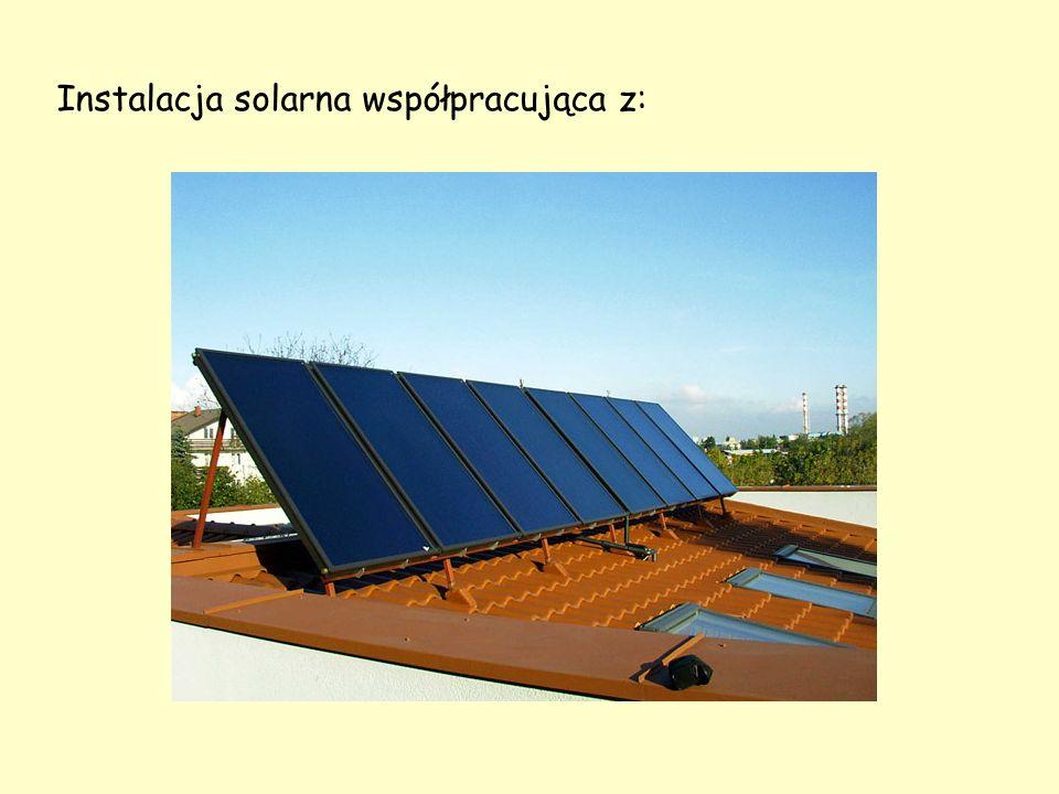 Instalacja solarna współpracująca z: