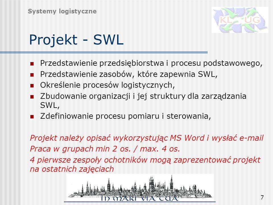 Projekt - SWL Przedstawienie przedsiębiorstwa i procesu podstawowego,