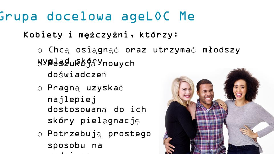 Grupa docelowa ageLOC Me