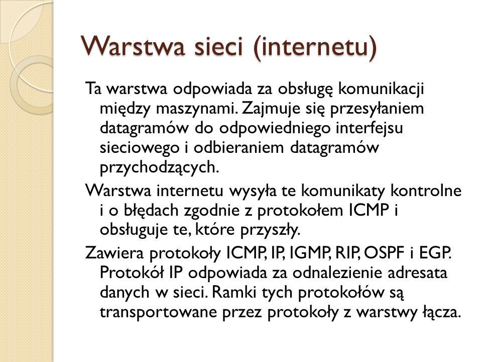 Warstwa sieci (internetu)