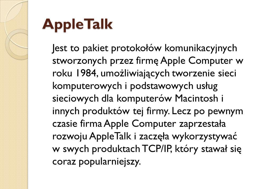 AppleTalk