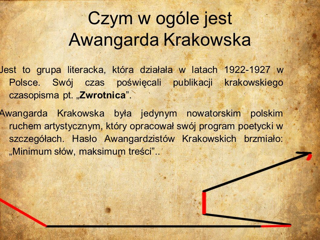 Czym w ogóle jest Awangarda Krakowska