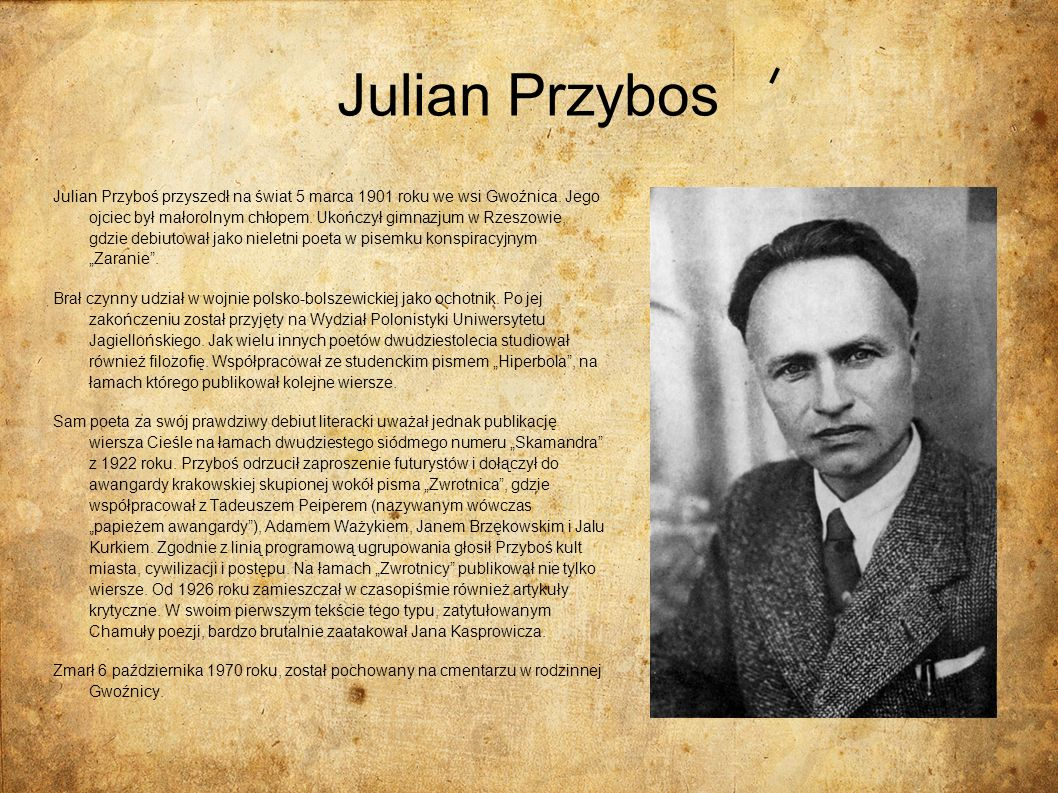 Julian Przybos