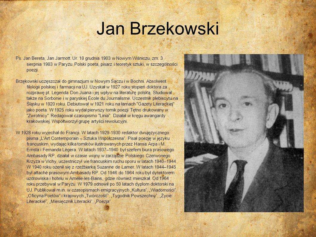 Jan Brzekowski