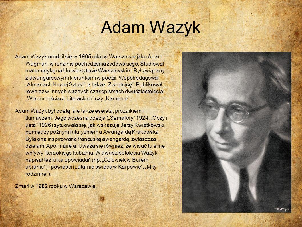 Adam Wazyk