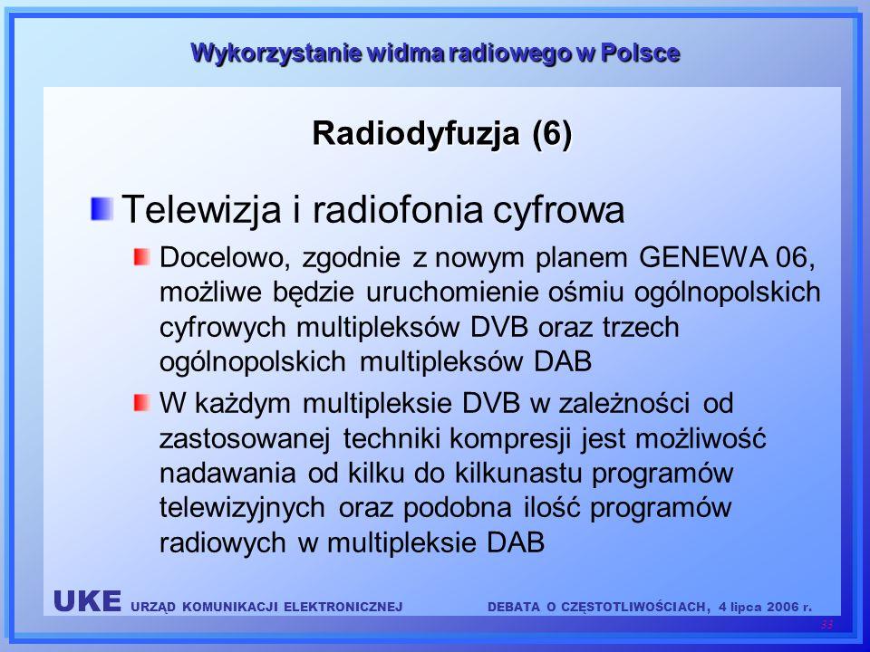 Telewizja i radiofonia cyfrowa