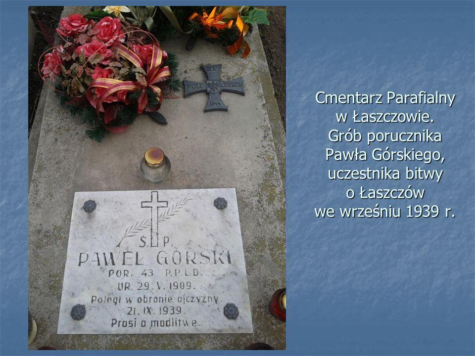 Cmentarz Parafialny w Łaszczowie