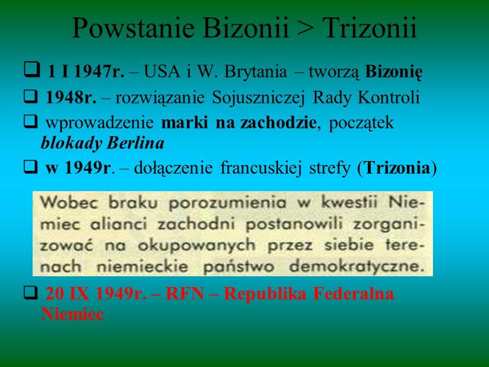 Powstanie Bizonii > Trizonii