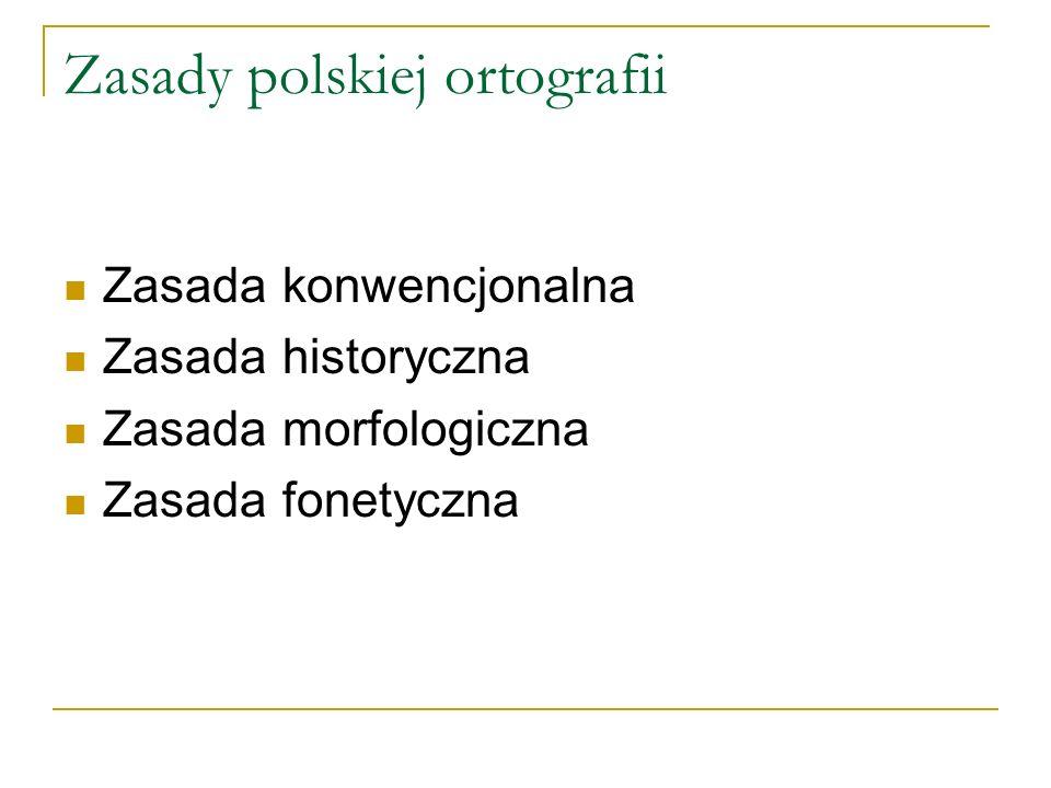 Zasady polskiej ortografii