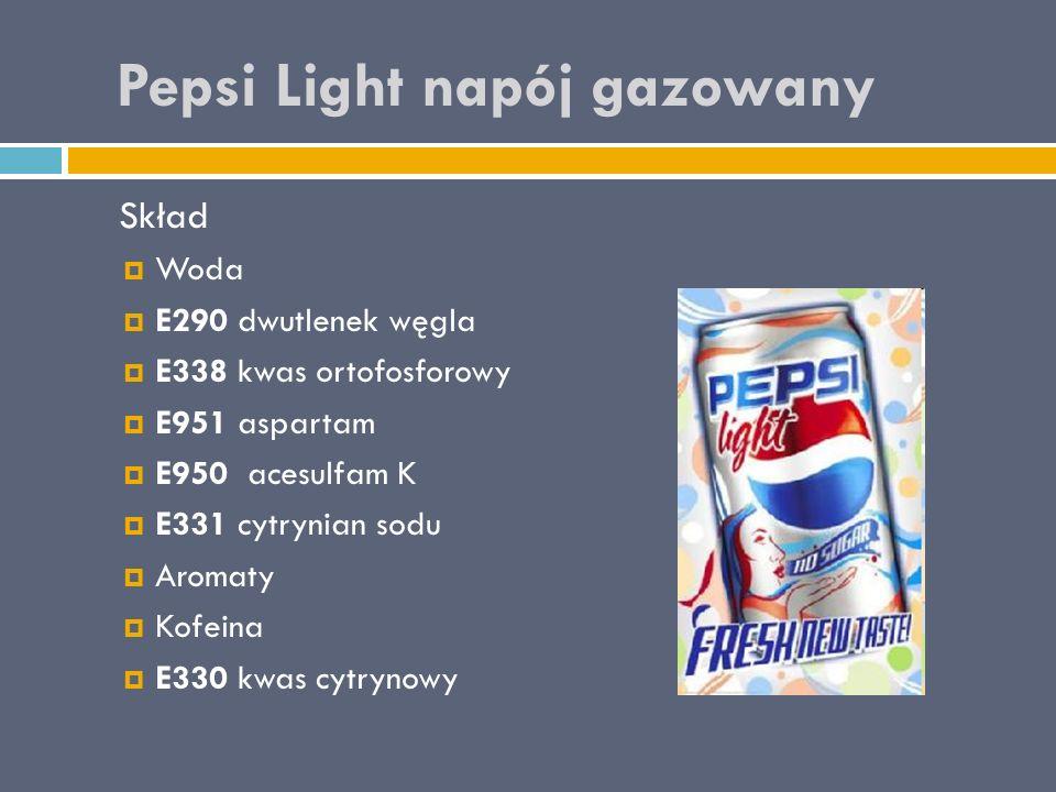 Pepsi Light napój gazowany