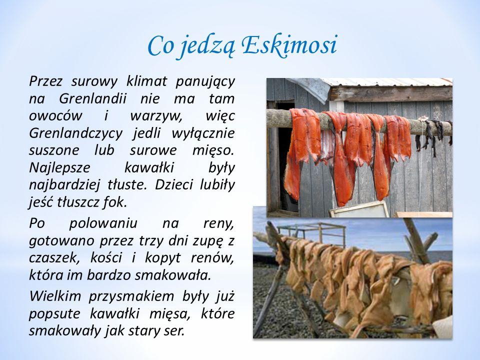 Co jedzą Eskimosi