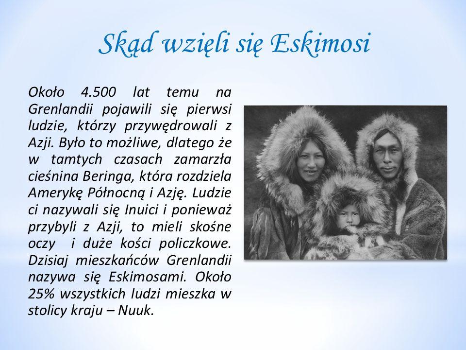 Skąd wzięli się Eskimosi
