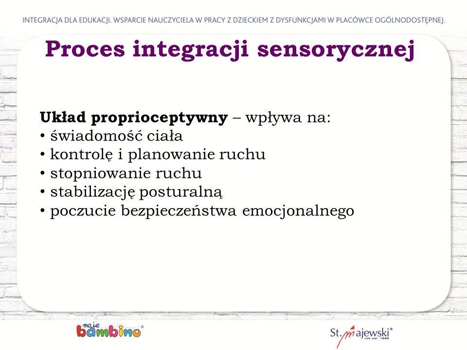 Proces integracji sensorycznej