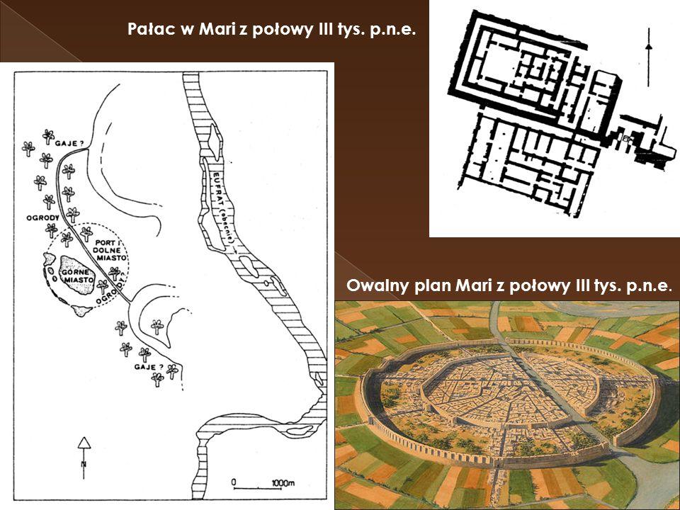 Pałac w Mari z połowy III tys. p.n.e.