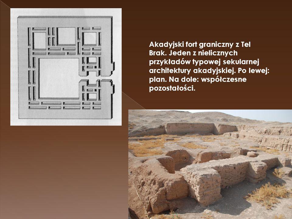 Akadyjski fort graniczny z Tel Brak