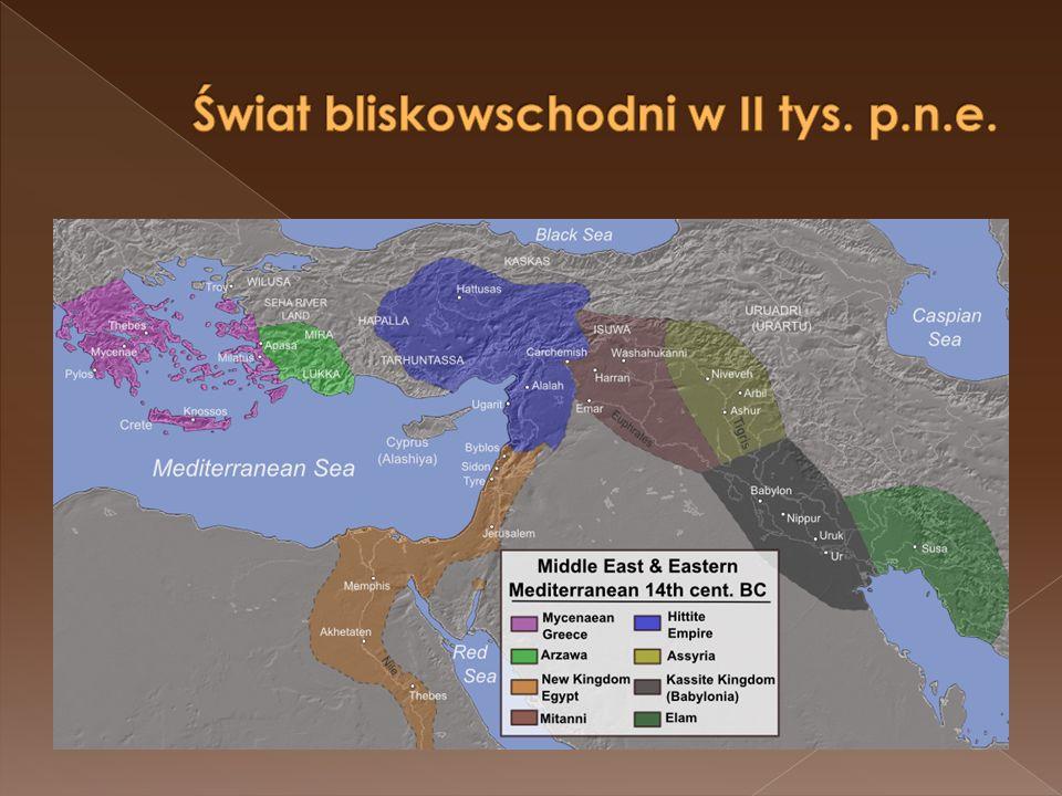 Świat bliskowschodni w II tys. p.n.e.