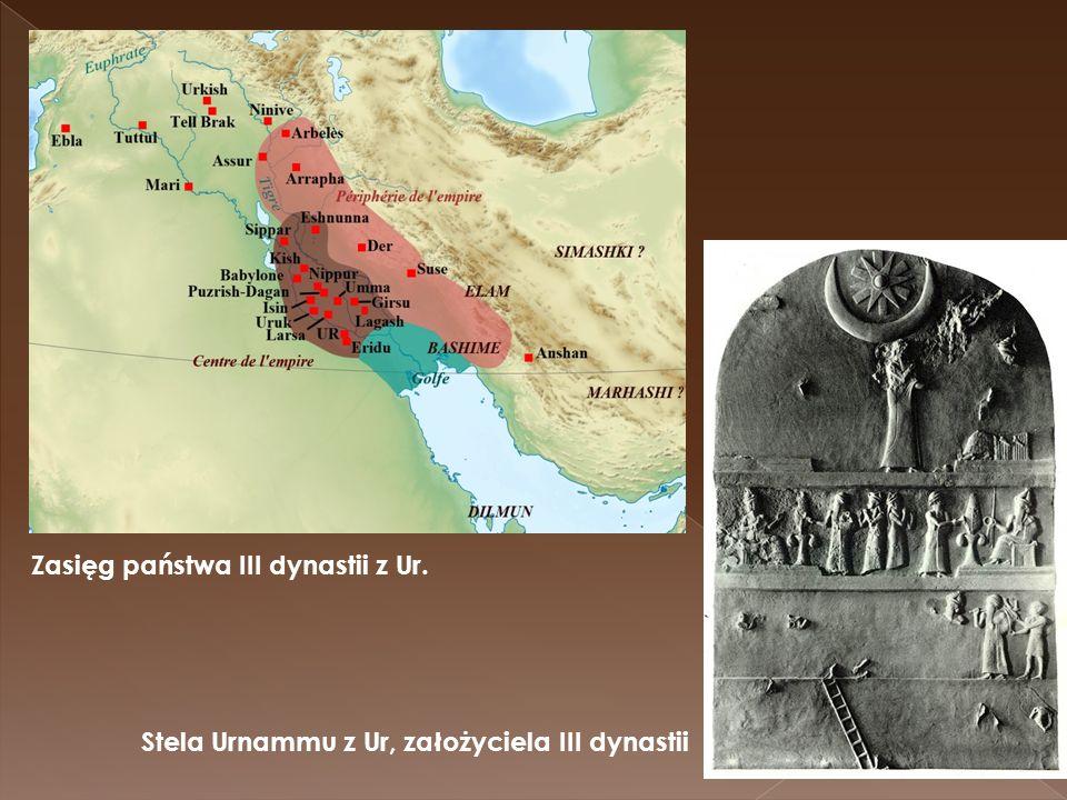 Zasięg państwa III dynastii z Ur.