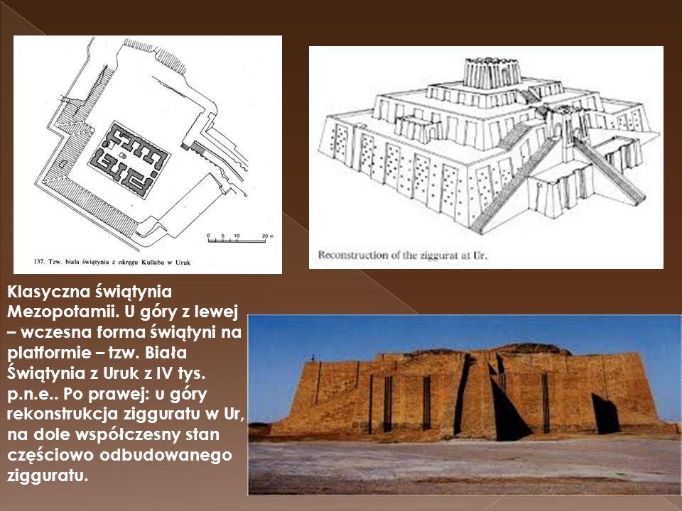 Klasyczna świątynia Mezopotamii