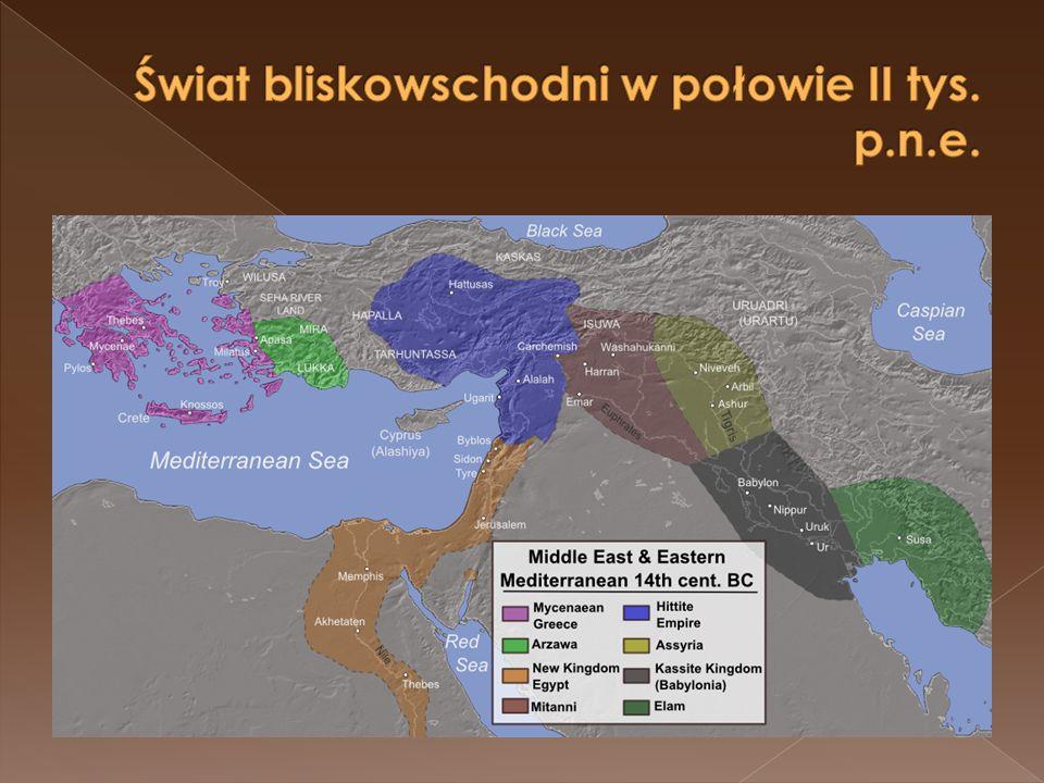 Świat bliskowschodni w połowie II tys. p.n.e.
