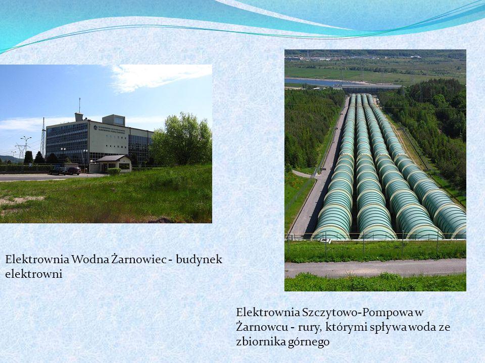 Elektrownia Wodna Żarnowiec - budynek elektrowni