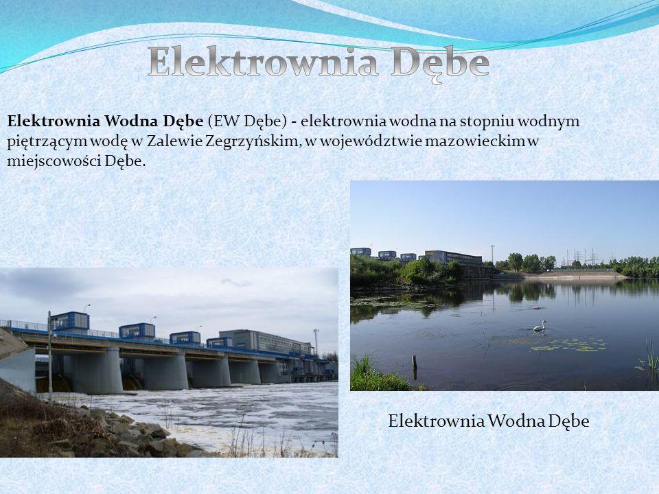 Elektrownia Dębe Elektrownia Wodna Dębe