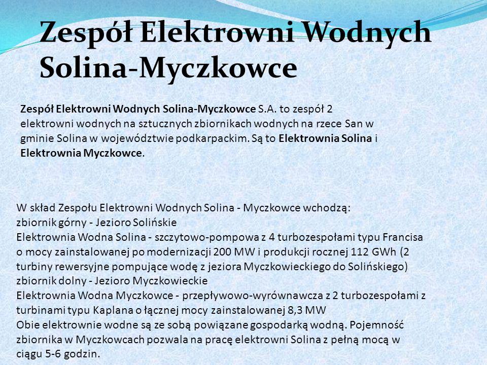 Zespół Elektrowni Wodnych Solina-Myczkowce