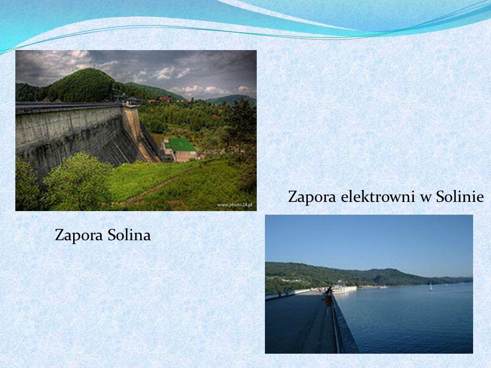 Zapora elektrowni w Solinie