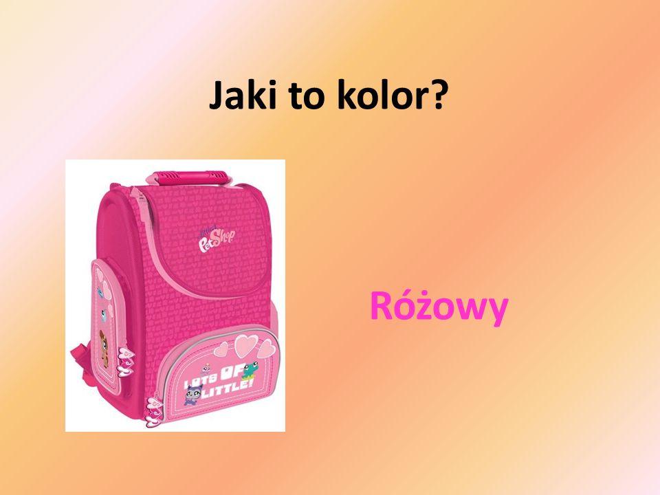 Jaki to kolor Różowy