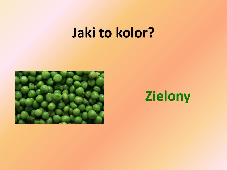 Jaki to kolor Zielony