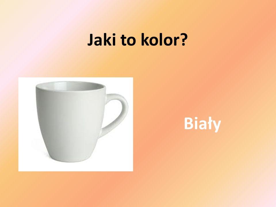 Jaki to kolor Biały