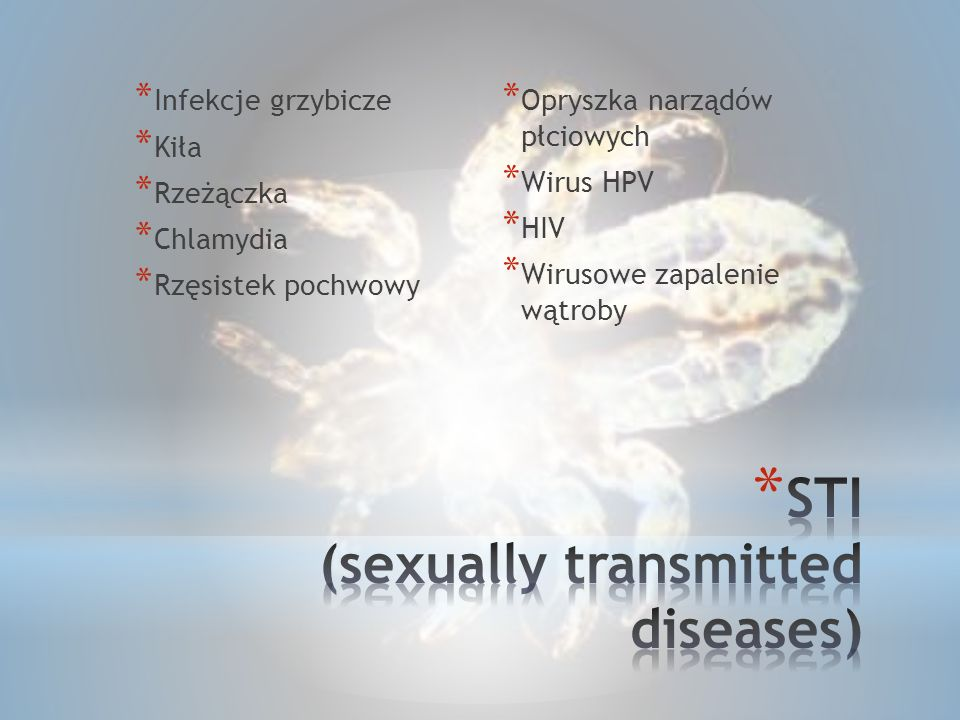 STI (sexually transmitted diseases)