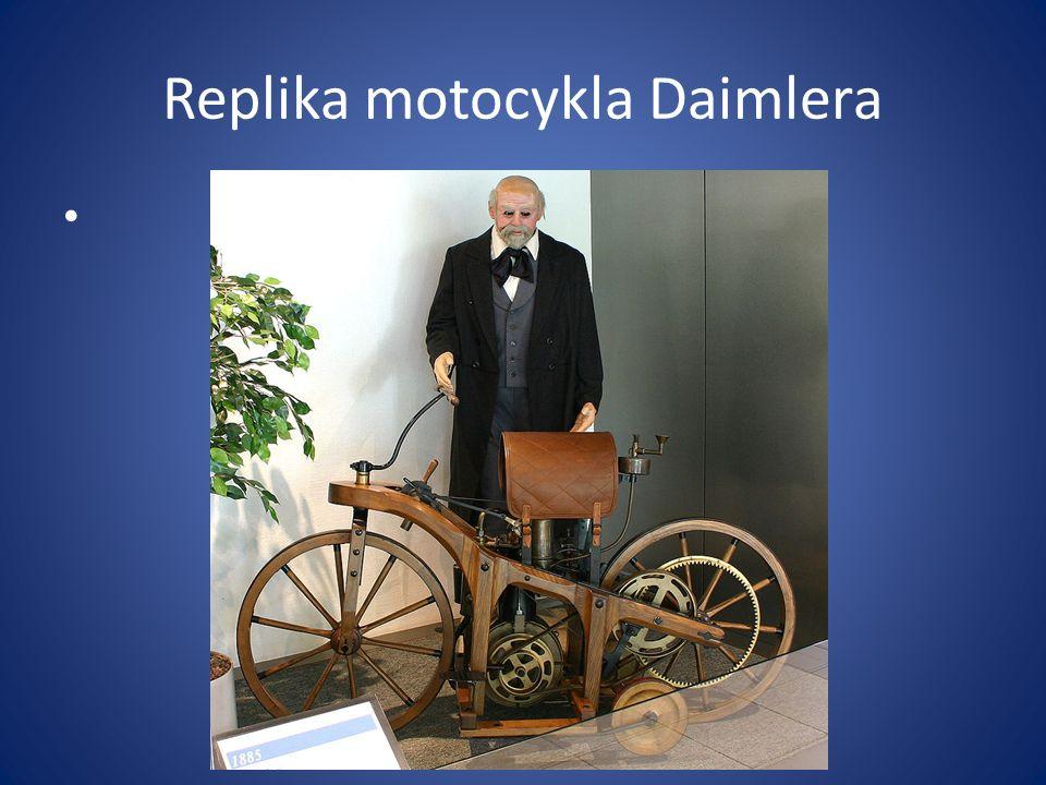 Replika motocykla Daimlera