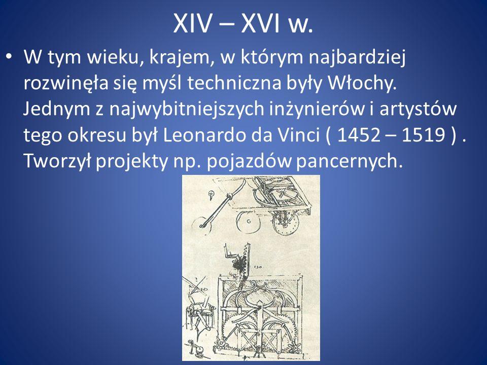 XIV – XVI w.