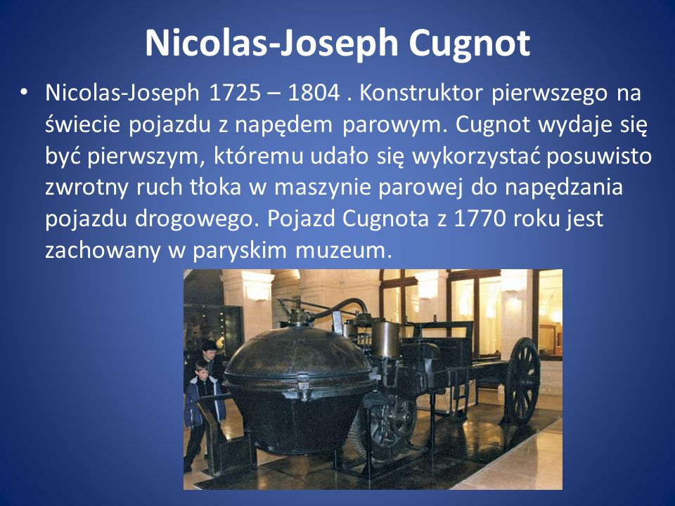 Nicolas-Joseph Cugnot