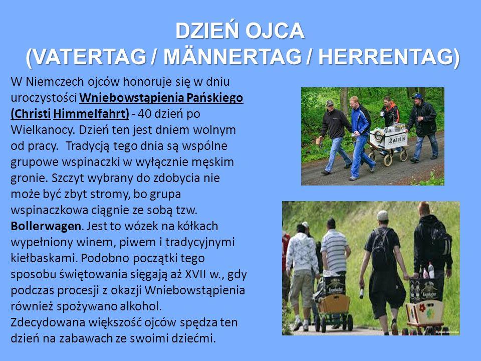 (VATERTAG / MÄNNERTAG / HERRENTAG)