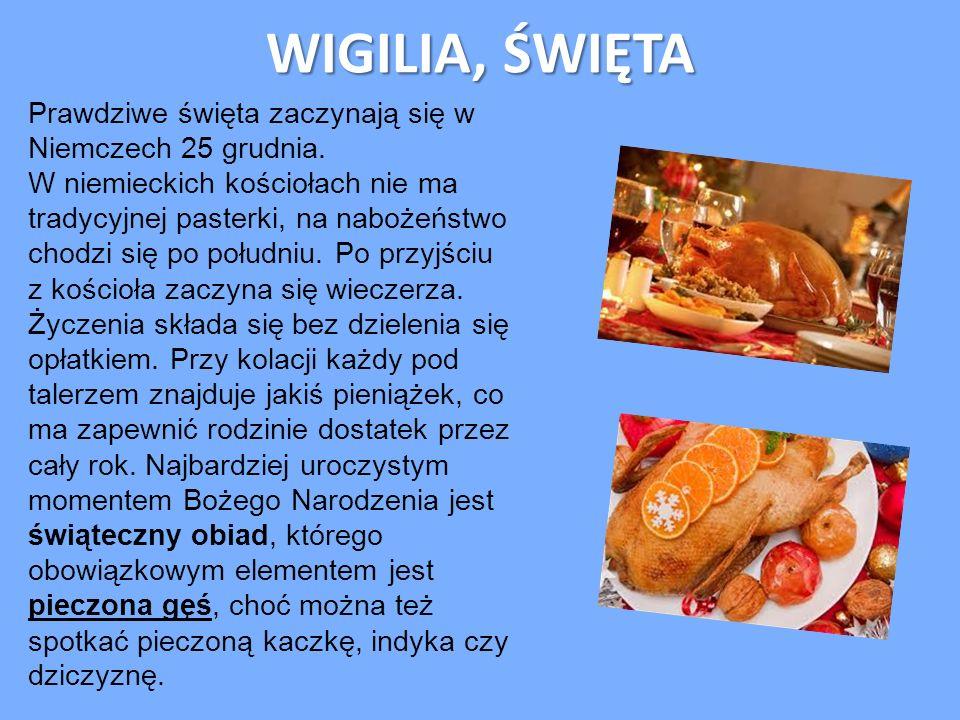 WIGILIA, ŚWIĘTA