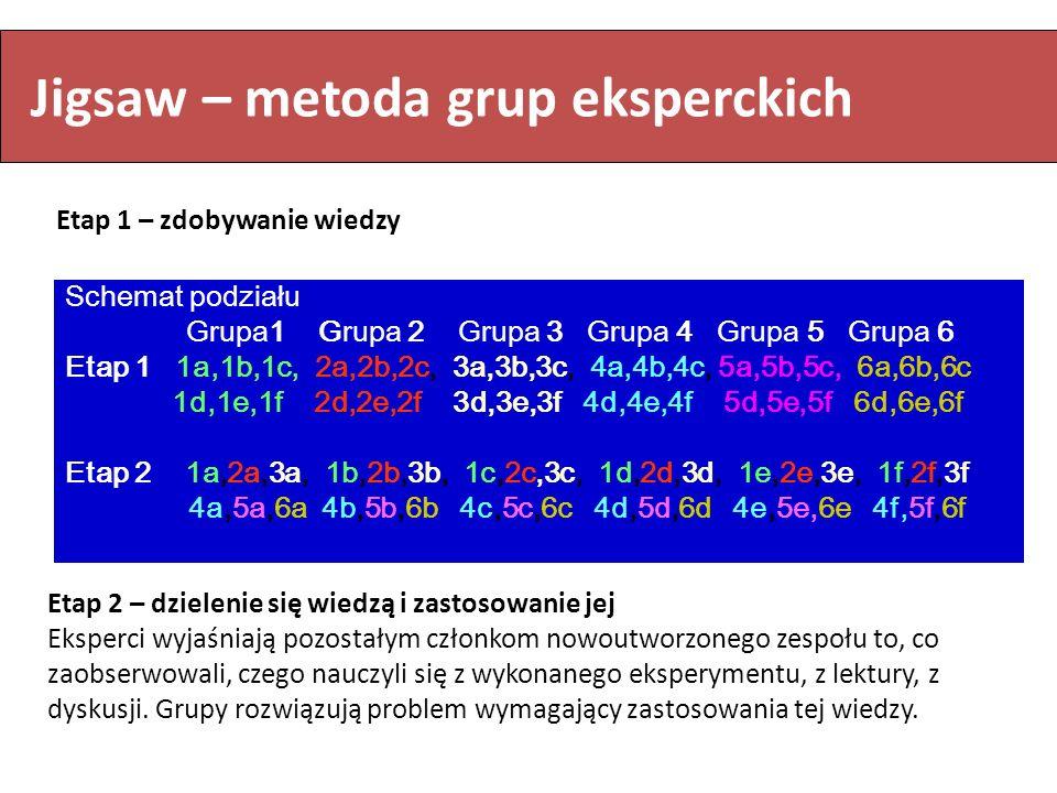 Jigsaw – metoda grup eksperckich