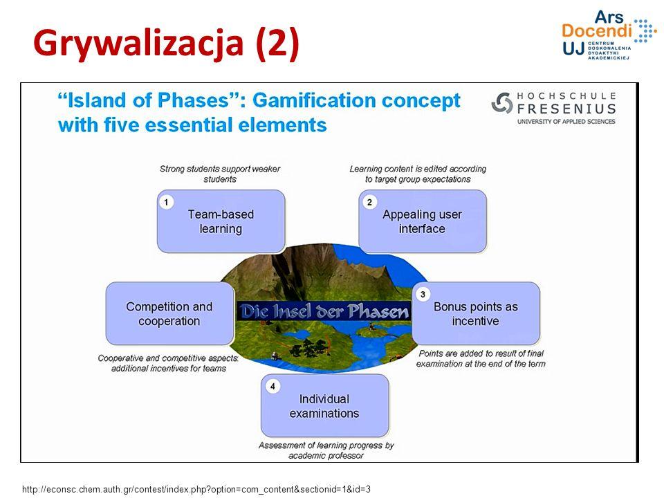 Grywalizacja (2) Wspólne funkcje, równowagi, układy potrójne (trójfazowe),