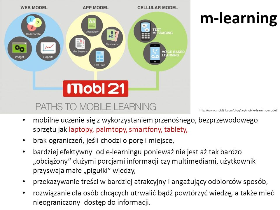 m-learning http://www.mobl21.com/blog/tag/mobile-learning-model/
