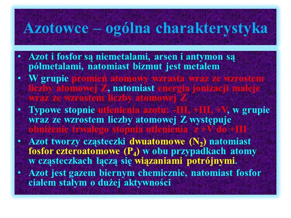 Azotowce – ogólna charakterystyka