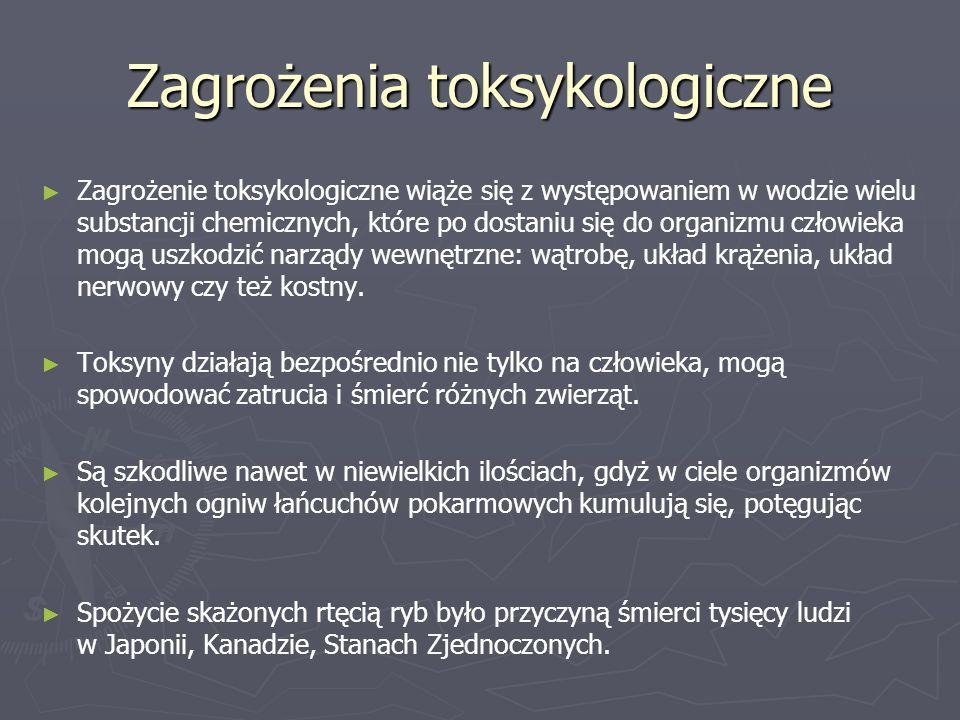 Zagrożenia toksykologiczne