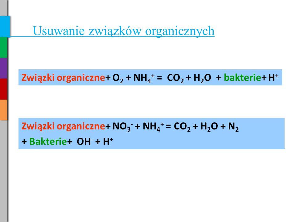 Usuwanie związków organicznych