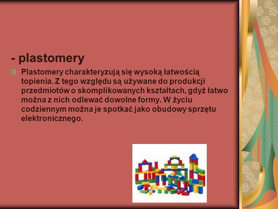 - plastomery