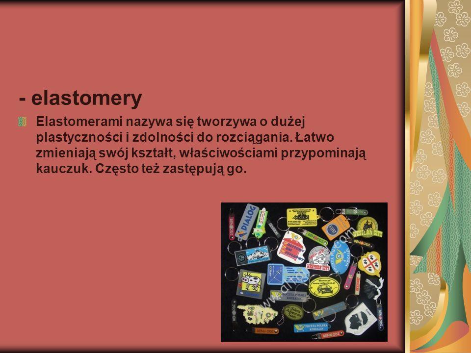 - elastomery