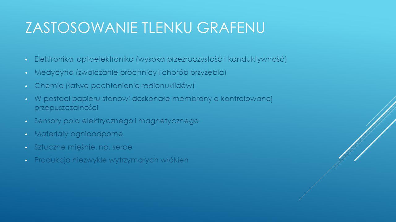 Zastosowanie tlenku grafenu