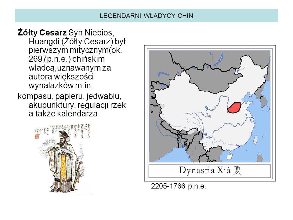 LEGENDARNI WŁADYCY CHIN