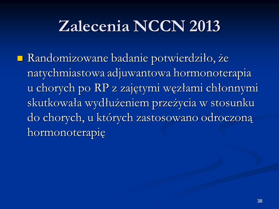 Zalecenia NCCN 2013