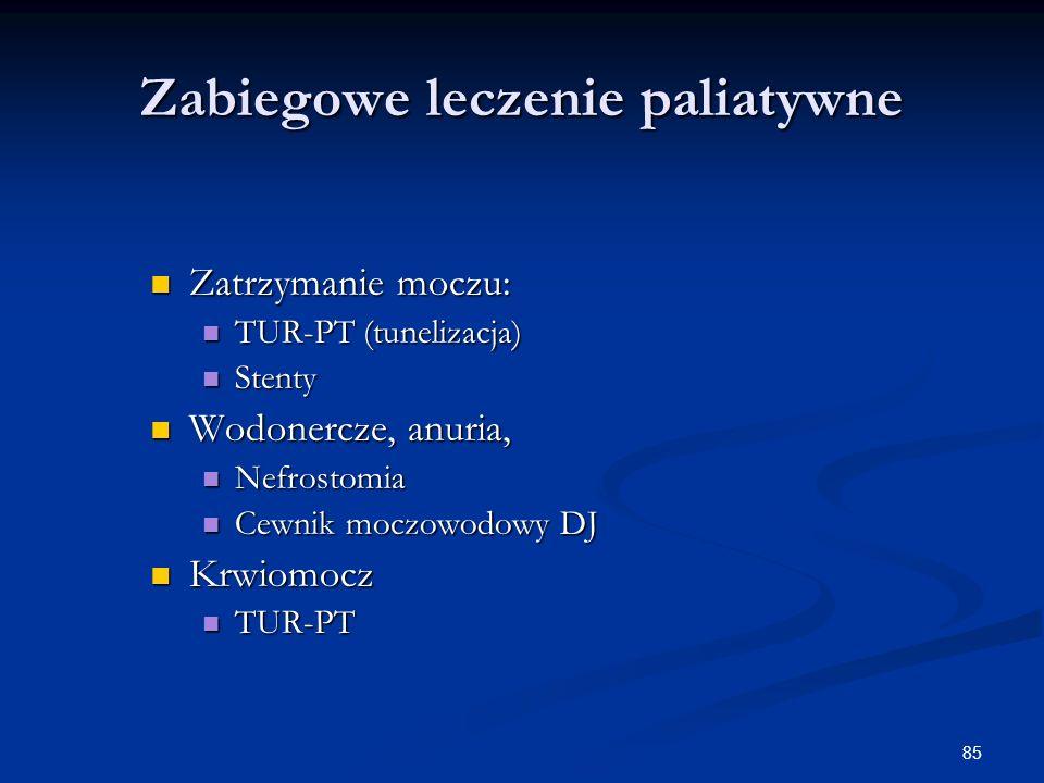 Zabiegowe leczenie paliatywne