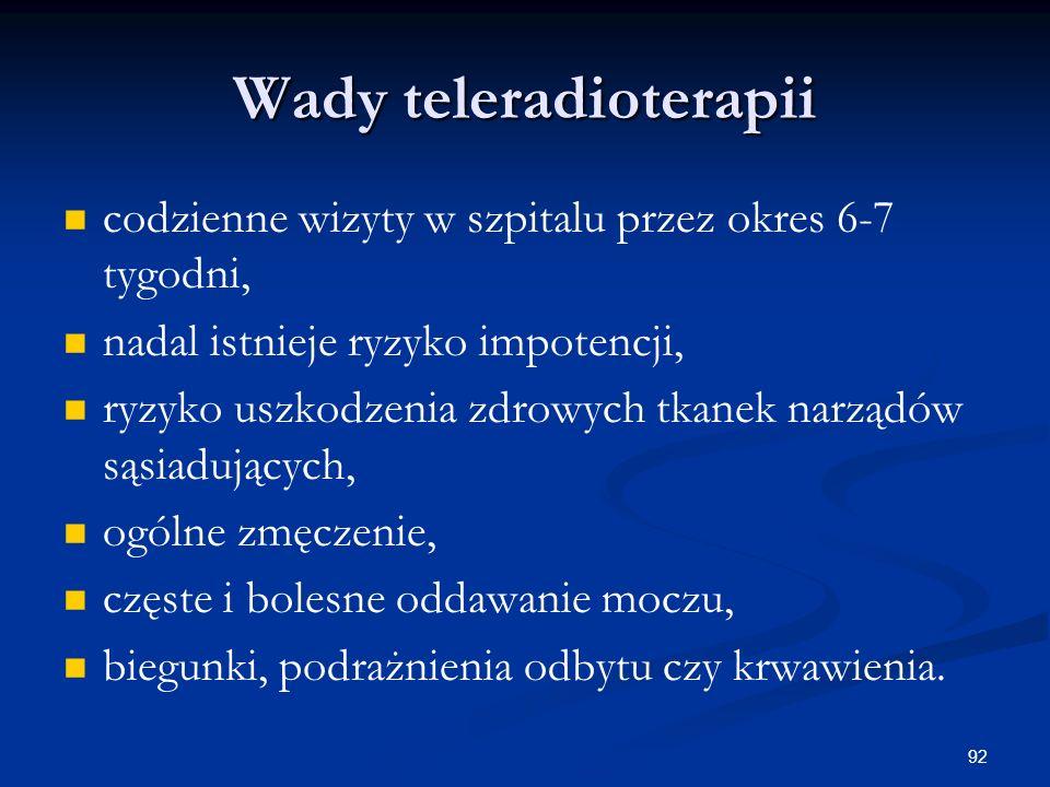 Wady teleradioterapii